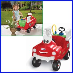Auto pompieri con getto d'acqua little tikes