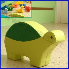 Morbidone tartaruga 82x51x20 cm