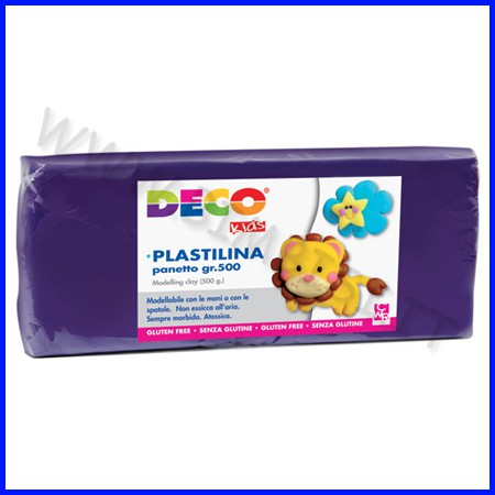 Plastilina - panetto gr.500 - viola