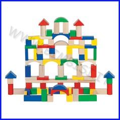 Costruzioni in legno - col. e forme ass. (100 pz.)