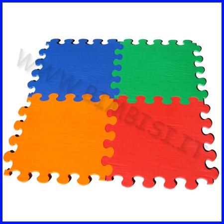 Pavimentazione antitrauma eva 100x100x08