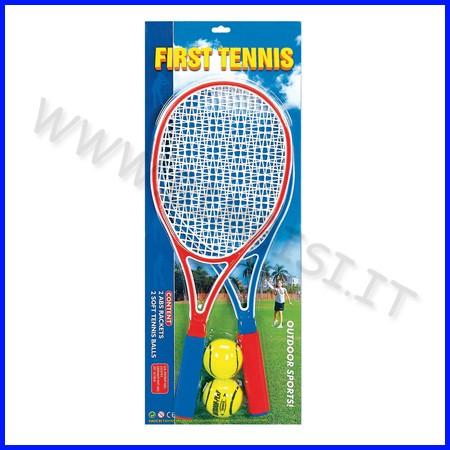 Tennis set: 2 racchette + 2 palline