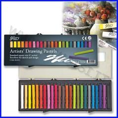 Pastelli quadrati per artisti 24 colori assortiti fino ad esaurimento