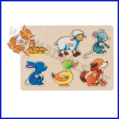 Puzzle alza e guarda cm.30x21 - mamma e figlio (6 pz.)