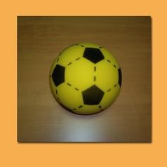 Palla soft calcio 200 mm gialla nera fino ad esaurimento