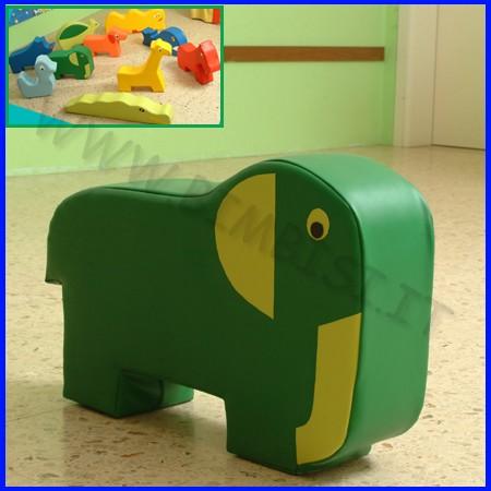 Morbidone elefante 75x52x20 cm