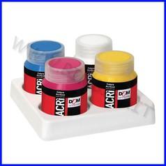 Colori acrilici acri' - 4 flaconi ml.60