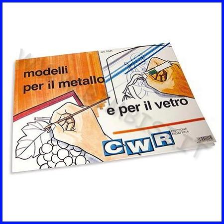 Album modelli per vetrata cm. 30x40