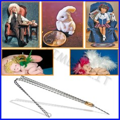 Proscuplt: struttura fil di ferro per corpo bambole fino ad esaurimento