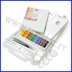Colori acrilici in valigetta