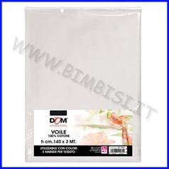 Tessuti pittura voile 100% cotone h cm.140x3 mt.
