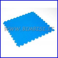 Pavimento ammortizzante puzzle blu cl1 cm74x74 sp1,5 ignifugo