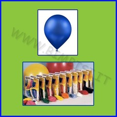 Palloncini tondi cf 25 blu