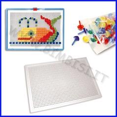 Mosaico creativo tavola forata