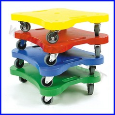 Roller boarder set 4 pz colori assortiti offerta per 4 set = 16 roller boarder