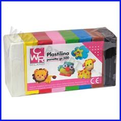 Plastilina multicolor conf.10 pz da 50g