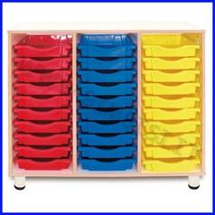 Cassettiera 30 cassetti smile linea simp ly h 100 cm