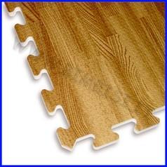 Mattonelle eva legno cm.60x60 - conf. 4 pz.
