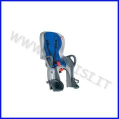 Seggiolino bici posteriore 10+ ok baby con schienale reclinabile
