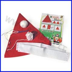 Set crea il cappello natalizio