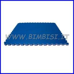 TATAMI MULTISPORT MATTONELLA 100X100X3cm ROSSO/BLU