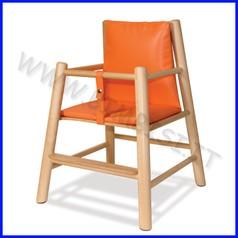 Seggiolone con materassino - seduta h cm.30