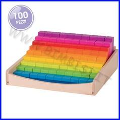 Regoli in legno - 100 pezzi