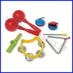 Strumenti musicali set 5 strumenti