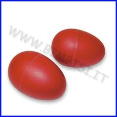 Strumenti musicali uova musicali coppia in plastica