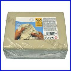 Pasta per modellare plus kg.5 - bianco