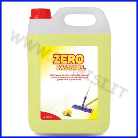Zero-pavibrill - detergente pavimenti pro lt.5 fino ad esaurimento
