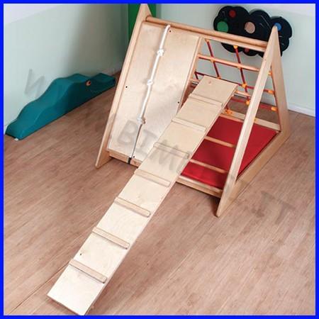 Asse ginnica arrampicata cm.200x30x11h