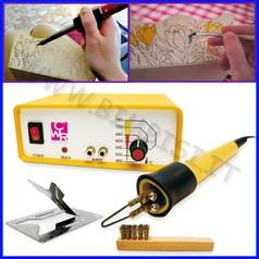 Pirografo con regolaz calore + accessori