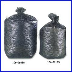 Sacco nero per cestini gettacarta cm.50x60