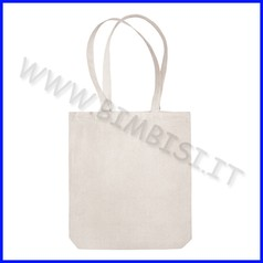 Shopper manici lunghi in tnt cm.38x42