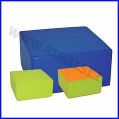 Percorsi h30 mezzo cubo dim.cm 60x60x30h