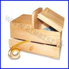 Supporti in legno: portagomitoli cm.31x17x25h fino ad esaurimento