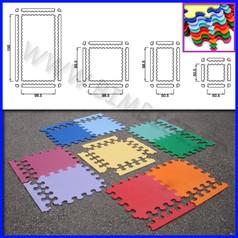 Pavimentazione antitrauma eva 100x100x15