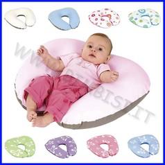 Cuscino allattamento softy piccolo cotone beige/avorio