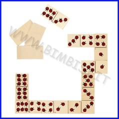 Domino coccinella (28 pz.)