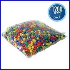 Chiodini piccoli mm.10 - busta gr.500 - +/- 1200 pz