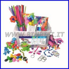 Craft box creativa - 750 pezzi