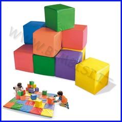 Cubi primi passi set 12 cubi 15x15x15 cm