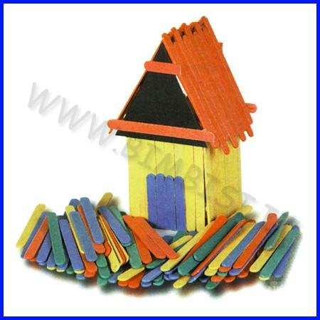 Stick legno colorati