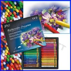 Pastelli acquarellabili 36 colori assort