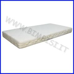 Materasso per lettino clima dim.cm 120x60x12 sfoderabile