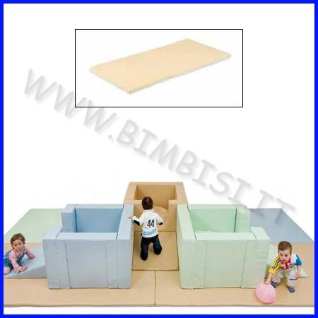 Tappeto bicolore 130x65x4