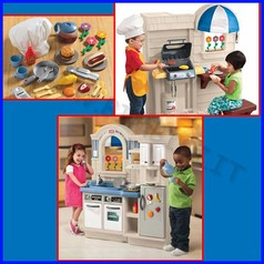 Cucina/grill little tikes