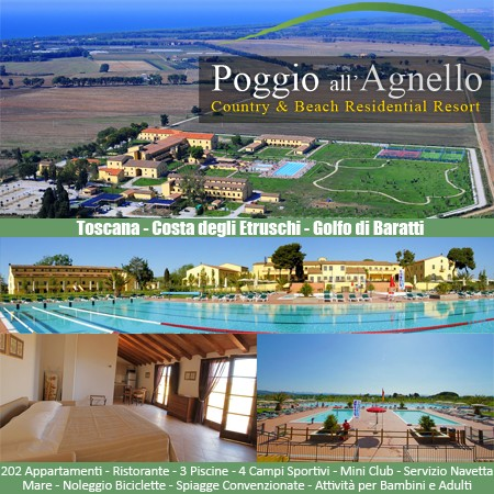 POGGIO ALL AGNELLO Country & Beach Residential Resort***