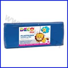 Plastilina - panetto gr.500 - blu